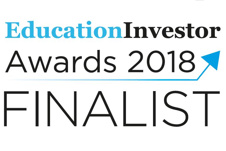 Education Investor Awards 2018 Finalist logo