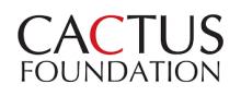 Cactus Foundation logo
